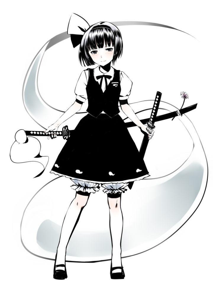 Девочка с двумя мечами