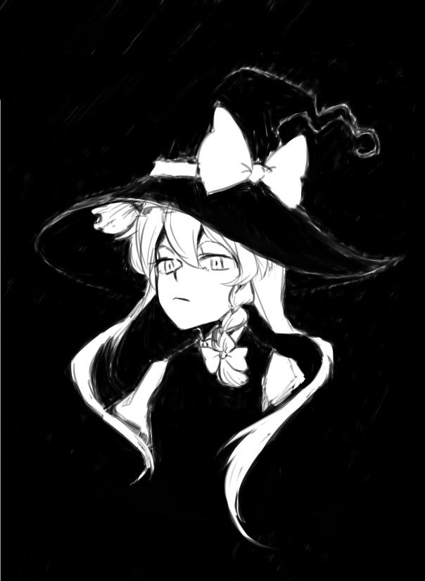 Девушка в темноте