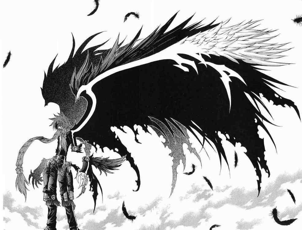 демон с крыльями ~ из манги  Mahou Tsukai Kurohime