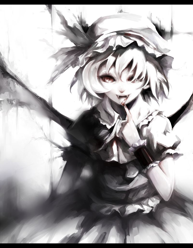 девочка вампирка remilia scarlet kyokucho