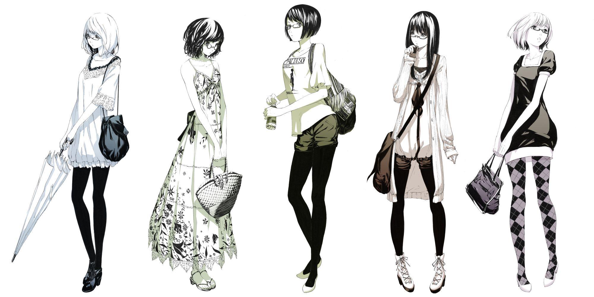 пять типажей аниме девушки sawasawa
