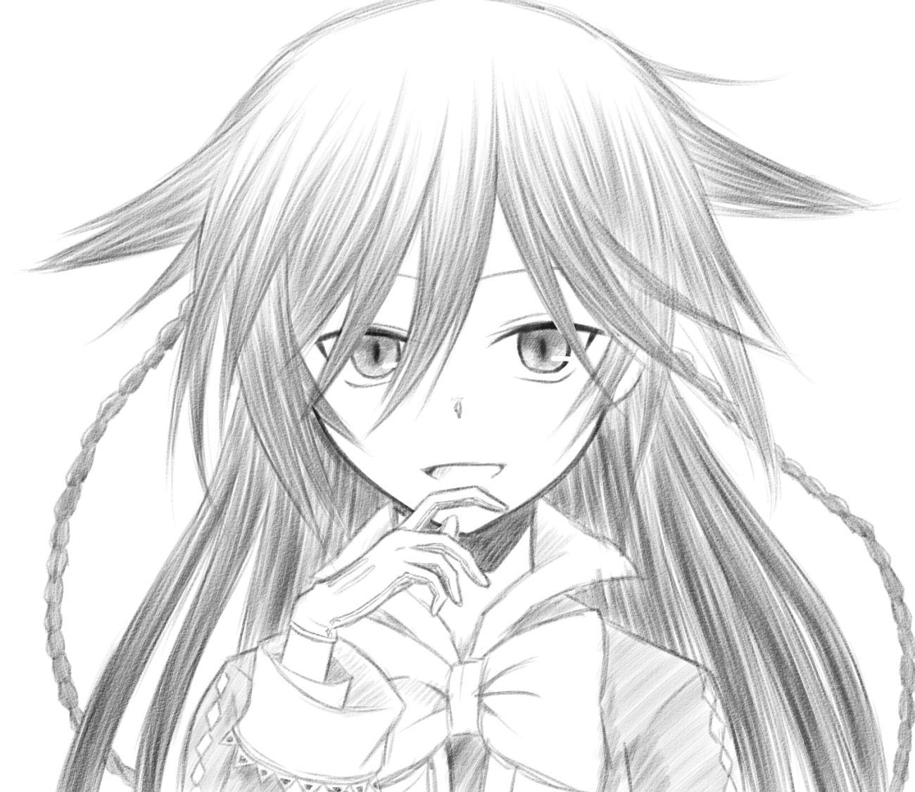 Милые аниме картинки девушек